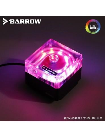 Barrow SPB17-S Plus Pompa PWM 17W RGB Nero/Trasparente  BARROW - 1