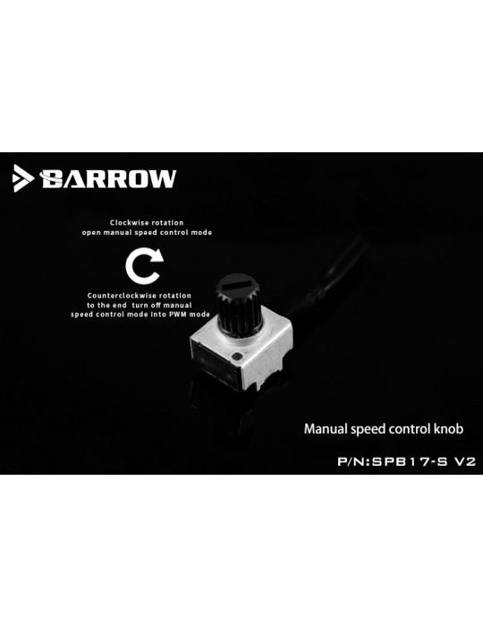 Barrow SPB17-S Plus Pompa PWM 17W RGB Nero/Trasparente BARROW - 5