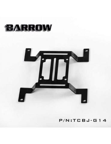 Barrow TCBJ-G14 Bracket supporto pompa 140mm Nero