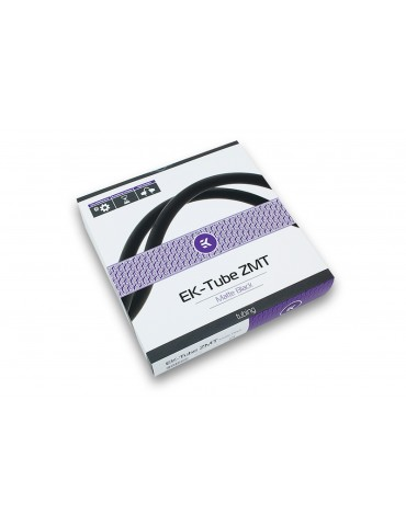 EK Tubo ZMT Matte Black 10/16mm (3mt)