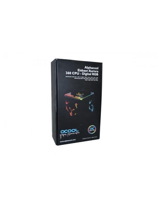 Alphacool Eisbaer Aurora 360 CPU - Digital RGB Alphacool - 9