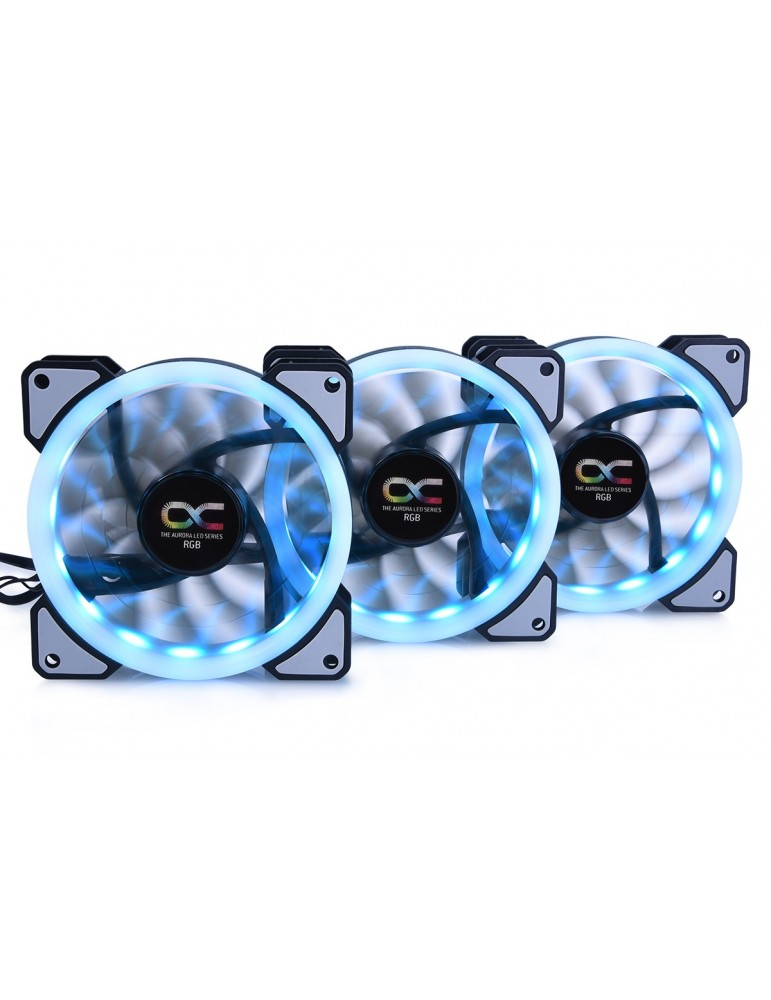 Alphacool Ventola Eiszyklon Aurora LUX Digital RGB - Kit da 3 ventole (120x120x25mm)