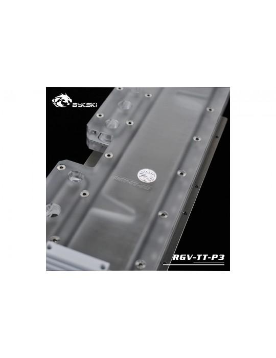 Bykski RGV-TT-P3 Distribution Plate Thermaltake P3 Distro Plate - RGW 5V Bykski - 7