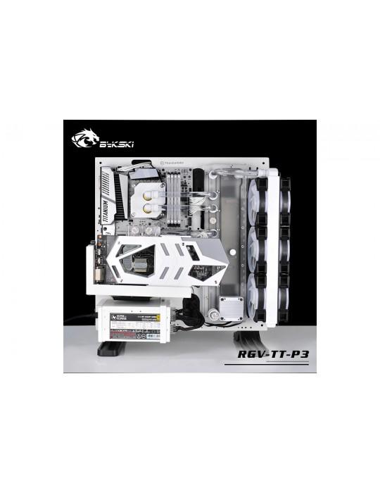 Bykski RGV-TT-P3 Distribution Plate Thermaltake P3 Distro Plate - RGW 5V Bykski - 8