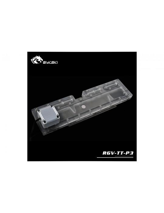 Bykski RGV-TT-P3 Distribution Plate Thermaltake P3 Distro Plate - RGW 5V Bykski - 4