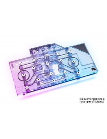 Alphacool Eisblock Aurora Plexi GPX-N RTX 3090/3080 + Backplate (Reference)