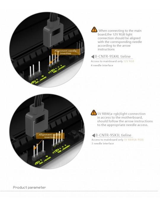 Bykski Waterblock AMD - CPU-RAY-MC-M  D-RGB Bykski - 9