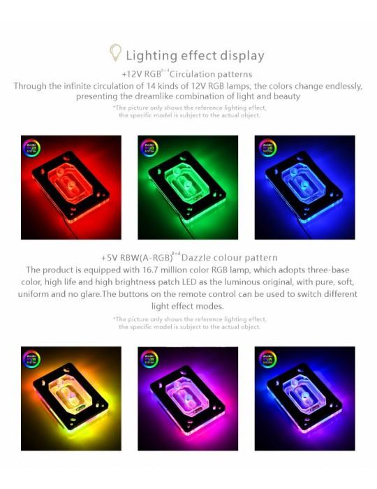 Bykski Waterblock AMD - CPU-RAY-MC-M  D-RGB Bykski - 6