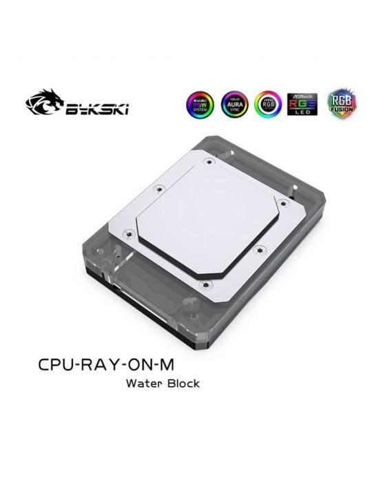 Bykski Waterblock AMD CPU-RAY-ON-M Black D-RGB Bykski - 2