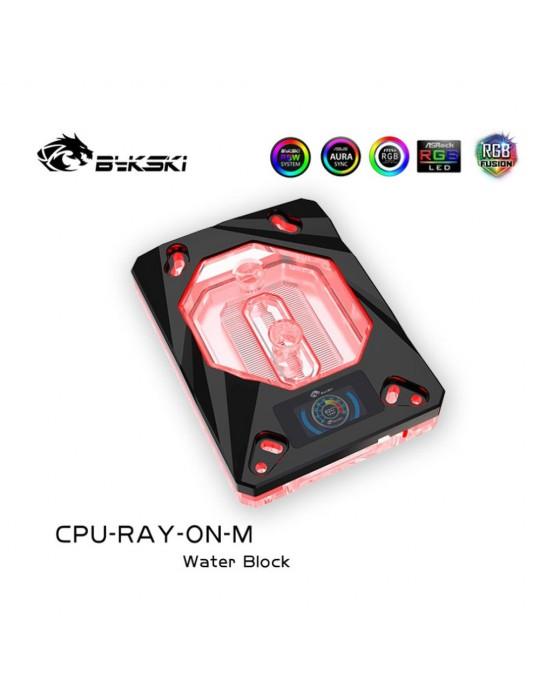 Bykski Waterblock AMD CPU-RAY-ON-M Black D-RGB Bykski - 5