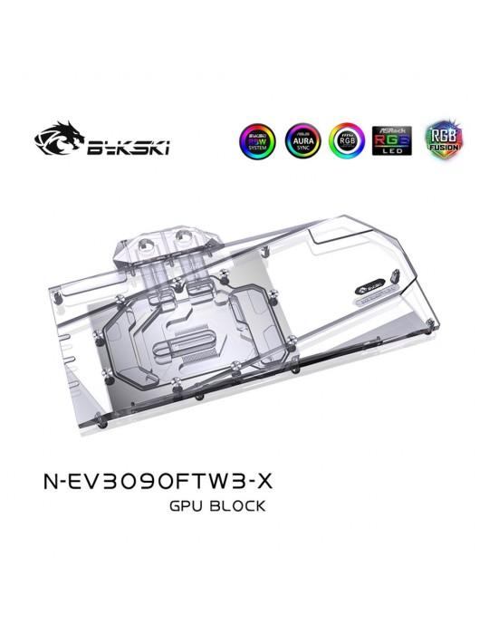 Bykski Waterblock GPU EVGA FTW3 3090 / 3080 (incl. Backplate) N-EV3090FTW3-X Bykski - 2