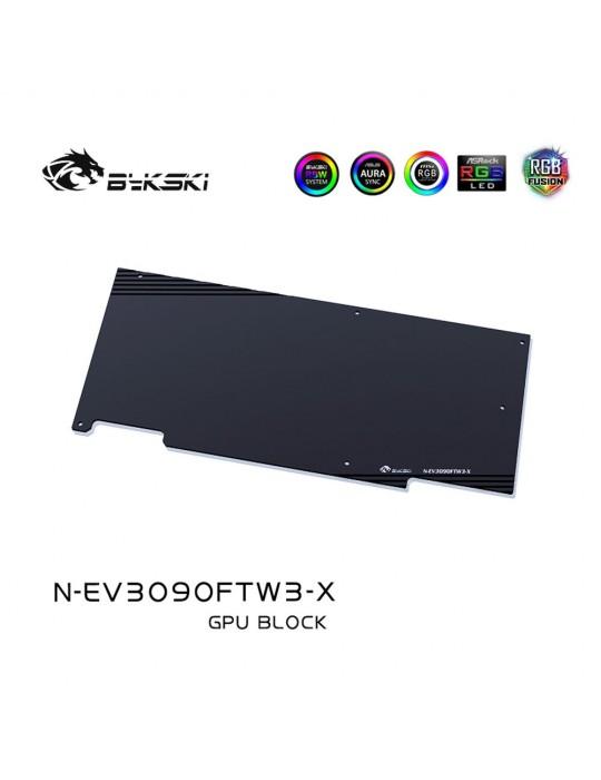 Bykski Waterblock GPU EVGA FTW3 3090 / 3080 (incl. Backplate) N-EV3090FTW3-X Bykski - 4