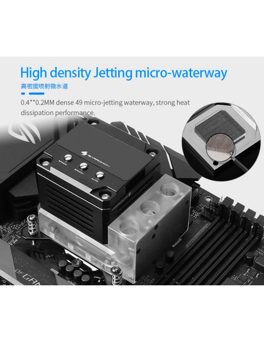 Barrow Waterblock CPU AMD AM4 con pompa e mini tanica integrata D-RGB FBLTPRKA-04 BARROW - 8