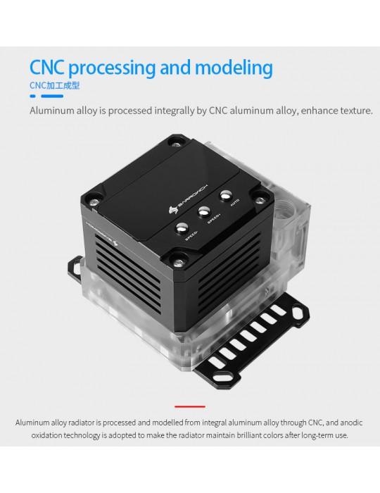 Barrow Waterblock CPU AMD AM4 con pompa e mini tanica integrata D-RGB FBLTPRKA-04 BARROW - 1