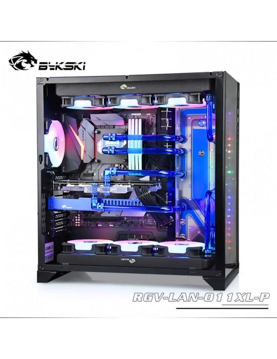 Bykski RGV-LAN-011XL-P Distribution Plate per Lian Li PC 011XL- RGW 5V Bykski - 6