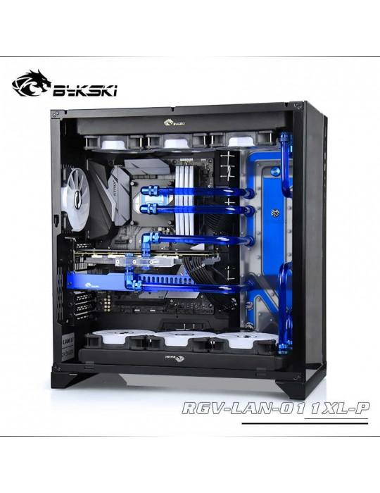 Bykski RGV-LAN-011XL-P Distribution Plate per Lian Li PC 011XL- RGW 5V Bykski - 7