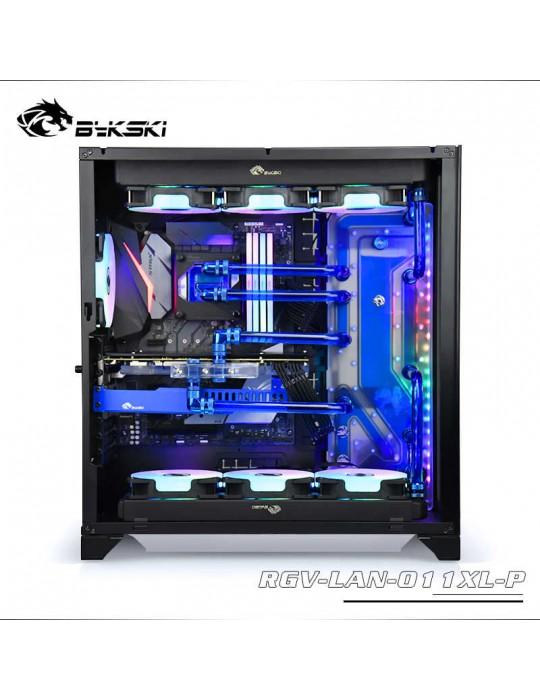 Bykski RGV-LAN-011XL-P Distribution Plate per Lian Li PC 011XL- RGW 5V Bykski - 1