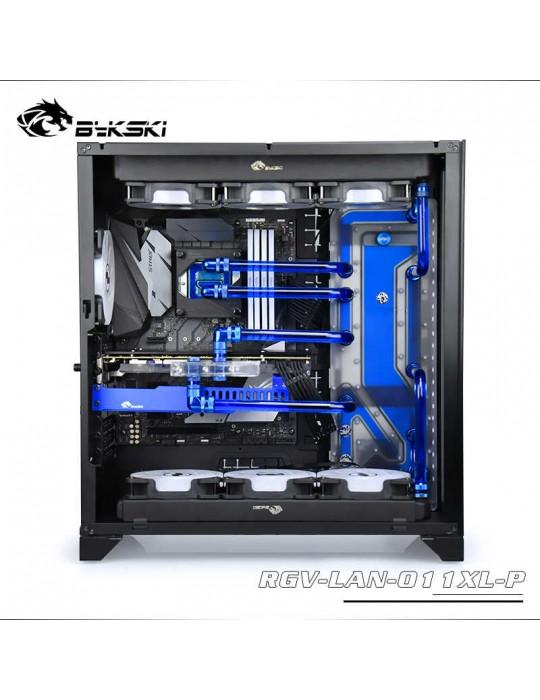 Bykski RGV-LAN-011XL-P Distribution Plate per Lian Li PC 011XL- RGW 5V Bykski - 8