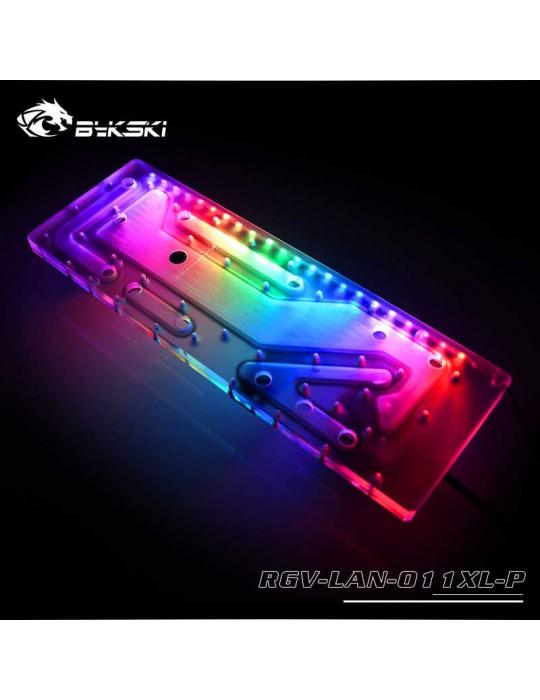 Bykski RGV-LAN-011XL-P Distribution Plate per Lian Li PC 011XL- RGW 5V Bykski - 3