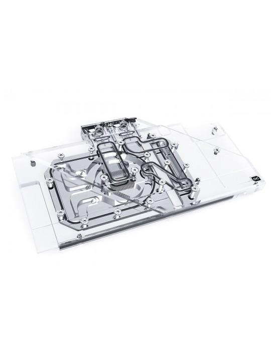 Alphacool Eisblock Aurora Acryl GPX-A Radeon RX 6800/6800XT Strix/TUF + Backplate Alphacool - 1