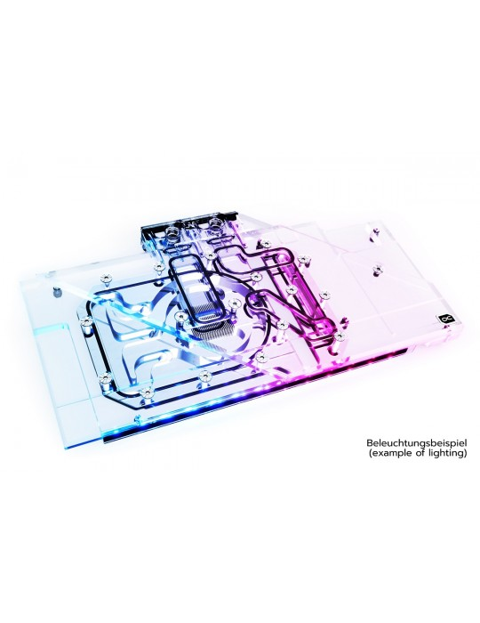Alphacool Eisblock Aurora Acryl GPX-A Radeon RX 6800/6800XT Strix/TUF + Backplate Alphacool - 2