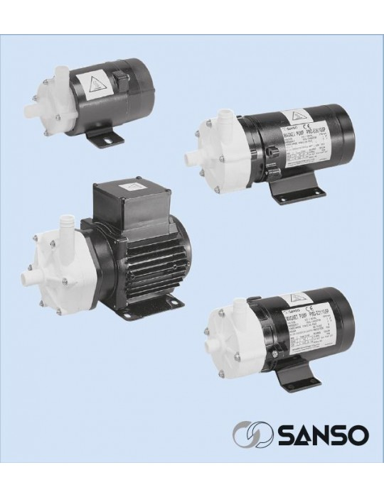 SANSO Pompa mod. PMD-0531 220V AC Attacchi Portatubo Sanso - 3