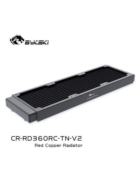 Bykski 360mm Radiatore slim D30 V2 Full Copper - CR-RD360RC-TN-V2 Bykski - 3