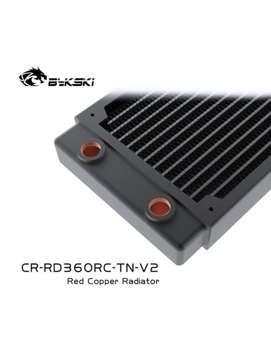 Bykski 360mm Radiatore slim D30 V2 Full Copper - CR-RD360RC-TN-V2 Bykski - 4