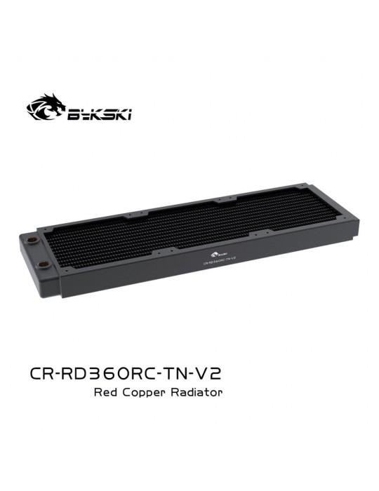 Bykski 360mm Radiatore slim D30 V2 Full Copper - CR-RD360RC-TN-V2 Bykski - 5
