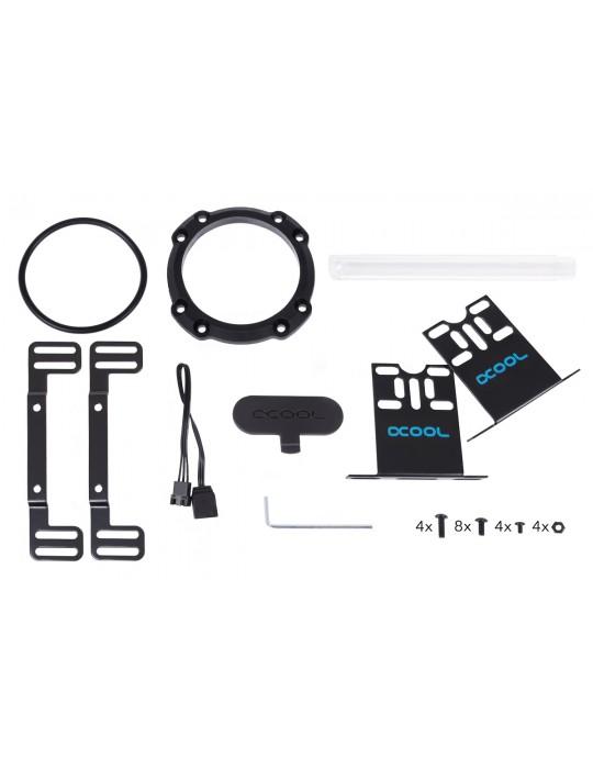 Alphacool Eisbecher Aurora D5 250mm Acetal/Glass (pompa non inclusa) Alphacool - 10