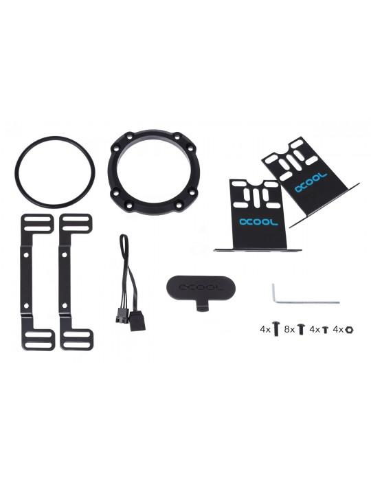 Alphacool Eisbecher Aurora D5 150mm Acetal/Glass (pompa non inclusa) Alphacool - 10