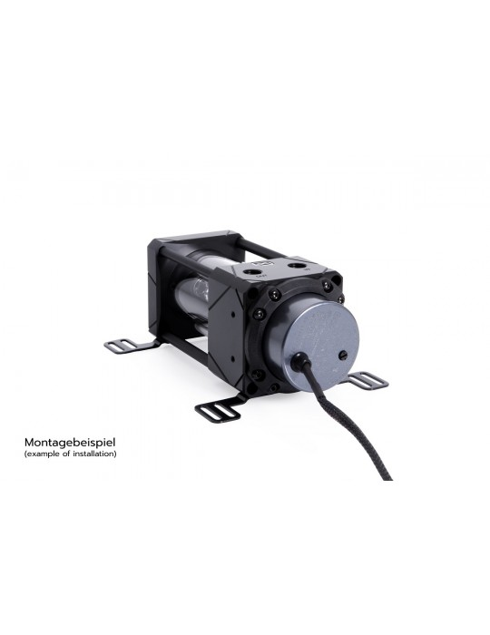 Alphacool Eisbecher Aurora D5 150mm Acetal/Glass (pompa non inclusa) Alphacool - 7