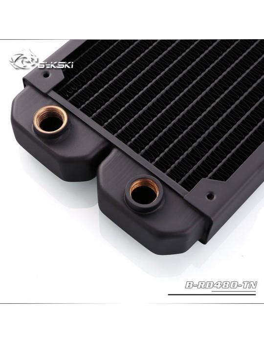 Bykski 480mm Radiatore slim (122x515.5x29mm) Copper - B-RD480-TN Bykski - 2