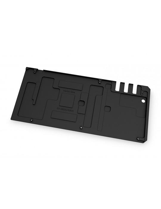 EK-Quantum Vector Strix RX 6800/6900 Backplate - Black EKWB - 2