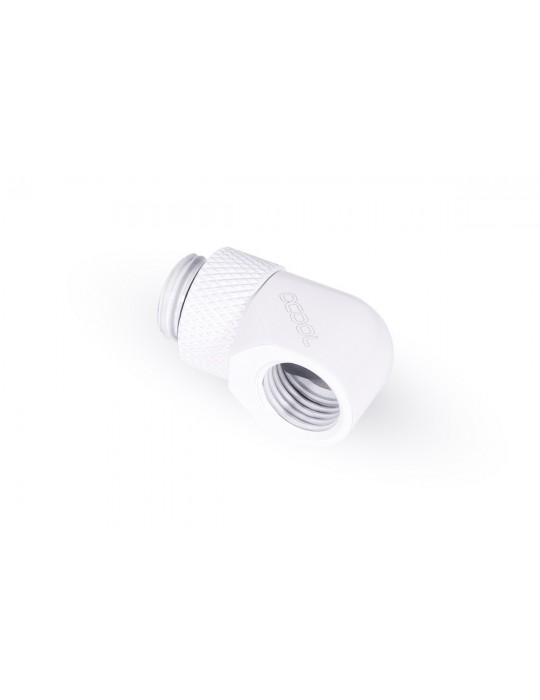 Alphacool adattatore M/F Angolare 90° - White - Ruotabile - Eiszapfen Alphacool - 2