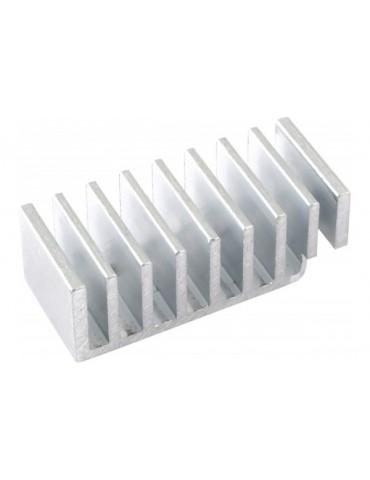 Aquacomputer dissipatore passivo in alluminio per aquaero 5