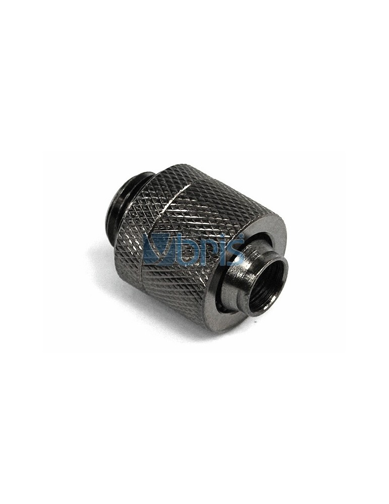Raccordo a compressione 1/4G tubo 10/13 mm Black Nickel