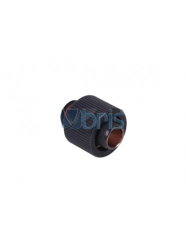 Raccordo Compressione 1/4G tubo 11/16mm Black Matt Compact