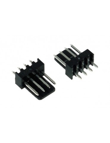 Phobya Fan Power Connector 4Pin PWM male - 2 pcs black