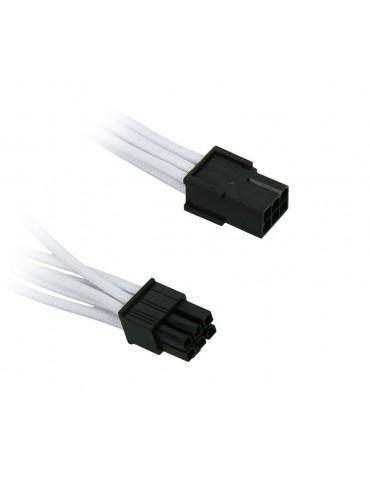 BitFenix Adattatore 6-pin PCIe 45cm - White / Black