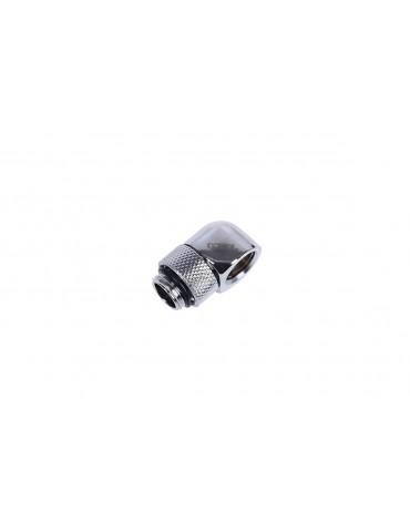 Alphacool HF Adattatore a L G1/4 M/F - Ruotabile - Chrome