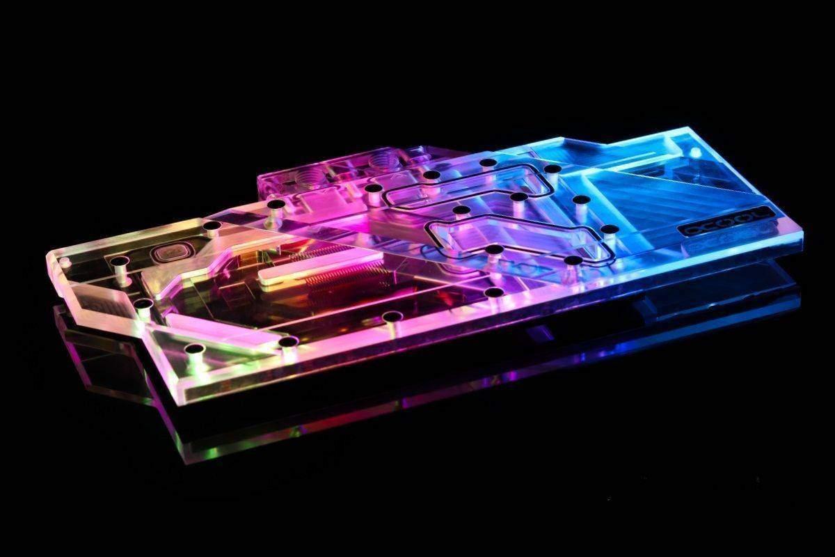Alphacool Eisblock Aurora Plexi GPX-A Radeon RX 5700 XT Thicc II / III