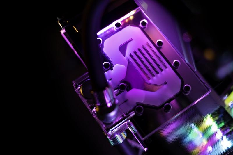 EK-Quantum Vector EVGA XC3 RTX 3080/3090 Active Backplate D-RGB - Plexi