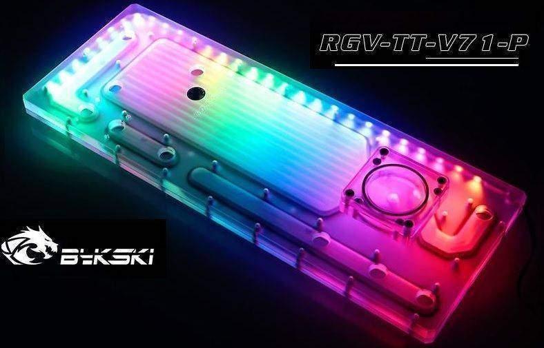 Bykski distro plate RGV-TT-V7-P